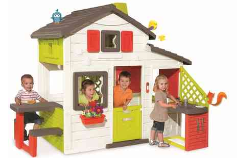 Groupon Goods Global GmbH - Smoby Friends Playhouse with Kitchen With Free Delivery - Save 0%