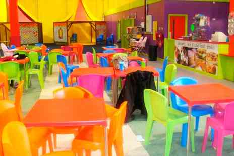 Wibbly Wobbly World of Play - Two Hour Soft Play Entry for Two, Three or Four Kids and Adults - Save 0%