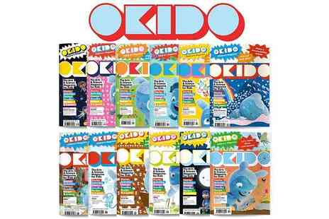 Okido - Okido Magazine Subscription Art, Science and More - Save 30%