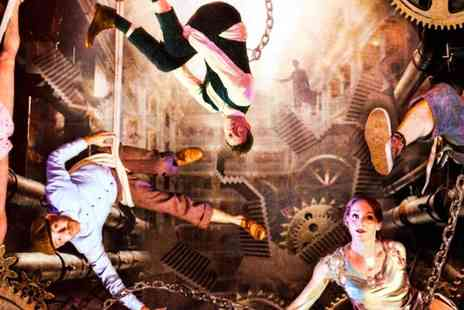 The RoundHouse - Relentless Unstoppable Human Machine at Roundhouse, Steampunk Circus Spectacular for Ages 5 plus - Save 30%