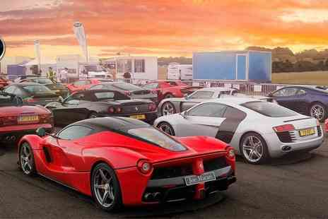 The Childrens Trust - The SuperCar Event 2018, Experience Amazing Cars, Mini Monster Trucks, Helicopters and more - Save 33%