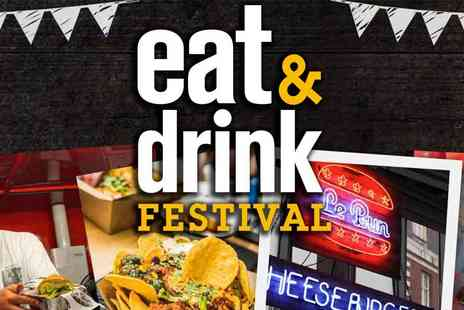 Media 10 Limited - Eat & Drink Festival, Olympia, Tasty Delights, Demos and More - Save 53%