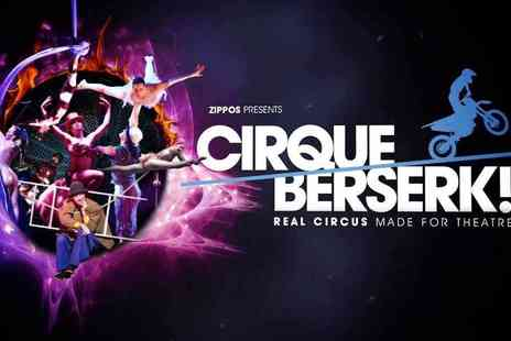 Encore Tickets - Cirque Berserk at the Harold Pinter Theatre - Save 0%