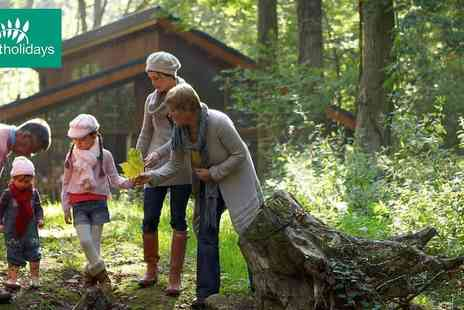 Forest Holidays - Exclusive Savings on Forest Holiday Family Escapes on Any Stay Free Early Check In - Save 5%