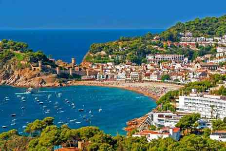 Crystal Travel - All inclusive three or five night Costa Brava getaway with return flights - Save 37%