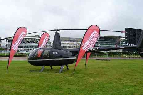 Helicentre - Helicopter flight to Aintree Races with Prosecco and canapes - Save 0%