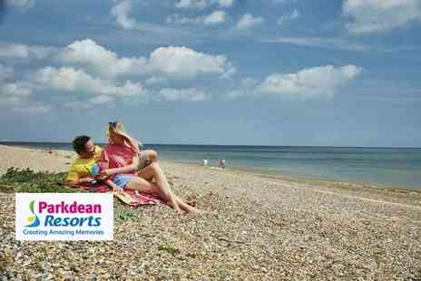 Parkdean Resorts - Three night weekend or four night midweek self-catered south east England stay for up to six people - Save 0%