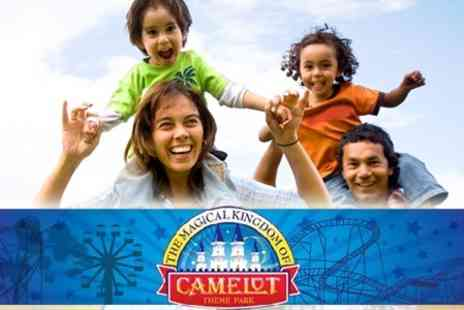 Best Western Park Hall Hotel - Overnight Stay for a Family of Four and 50% off Tickets to Camelot Theme Park - Save 60%