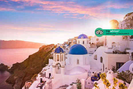 Bargain Late Holidays - Seven night Santorini stay with breakfast and flights - Save 31%