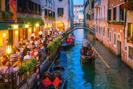 Weekender Breaks - Two or three night Venice getaway with an inclusive gondola ride and return flights - Save 37%