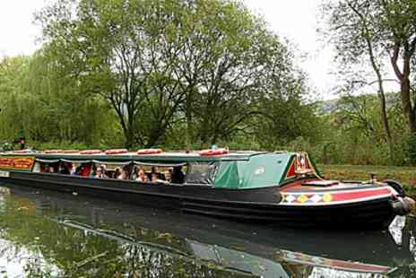 Birdswood Canal Boat - Two Hour Canal Trip and Hot Drink Each for Two or Family of Four - Save 22%