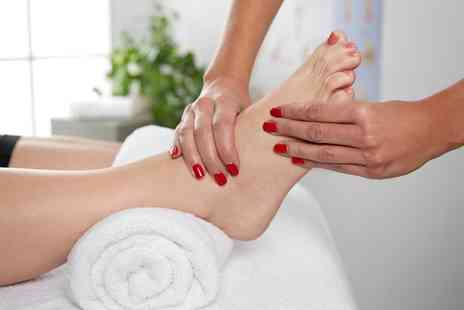 The Health and Healing Process - Spa Access with Reflexology or Acupressure Facial, or Back, Shoulder and Arm Massage - Save 0%