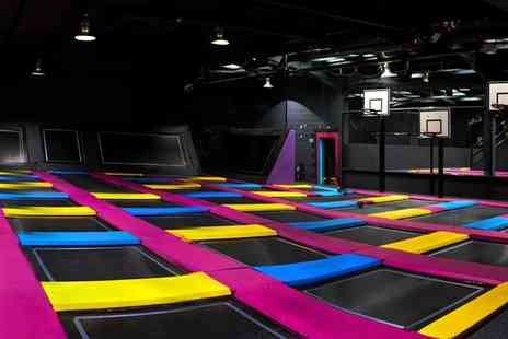 Bounce Revolution - Trampoline Party for Up to Ten Children - Save 0%