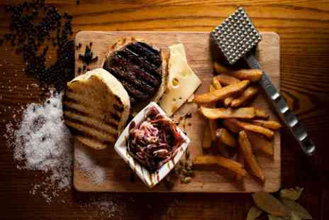The Black Horse - Specialist Burger Meal and Drinks for Two - Save 35%