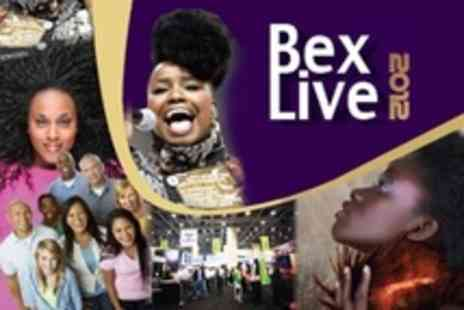 BEX Live - Four Entry For One With Evening Concert - Save 75%