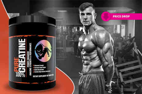 Predator Nutrition - 500g pure creatine - Save 47%