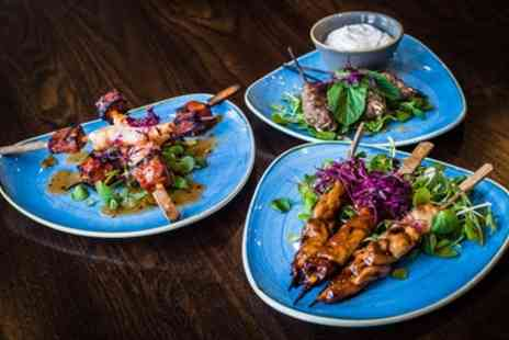 The Philharmonic - 6 or 12 Small Plates with Gins or Cocktails to Share for 2 or 4 - Save 64%