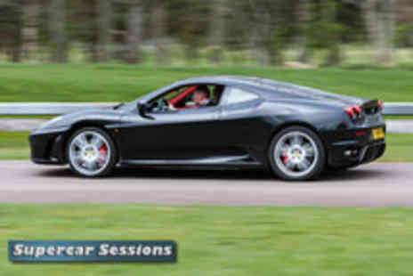 Supercar Session -  9 lap supercar experience - Save 70%