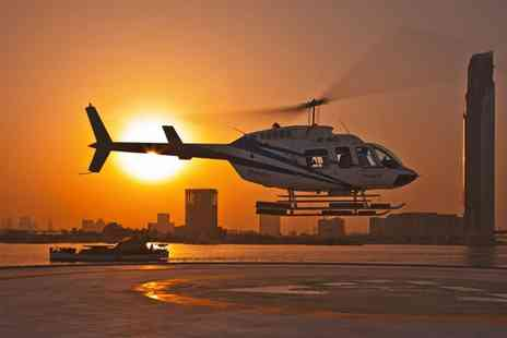 Helicentre Liverpool - 10 Minute Private Helicopter Experience for Up to Three - Save 0%