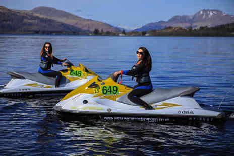 Jetski Safari Loch Lomond - 20 minute sit down jet ski experience for one or two - Save 51%