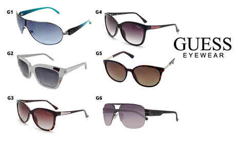 Brand Logic - Pair of Guess sunglasses select from 17 styles - Save 74%
