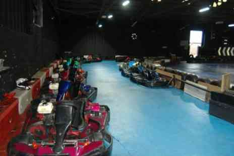 Ace Karting Plus - 50 Laps of Indoor Go Karting for One, Two or Four - Save 50%