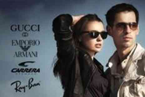 Red Hot Sunglassses - Voucher to spend on designer sunglasses - Save 70%