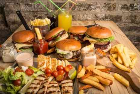 O Burger - Takeaway Burger, Chips and Drink for One, Two or Four - Save 40%