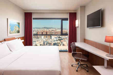 Four Points by Sheraton Barcelona Diagonal - Three Star Fantastic Location on Avenida Diagonal For Two - Save 69%