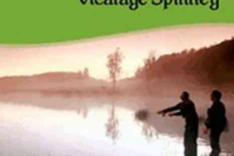 Vicarage Spinney Trout Farm - Day Ticket for Fly Fishing Experience with Breakfast for 2 - Save 74%