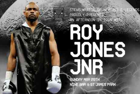 Newcastle Legends - An Evening with Roy Jones Junior with food on 20 May - Save 0%