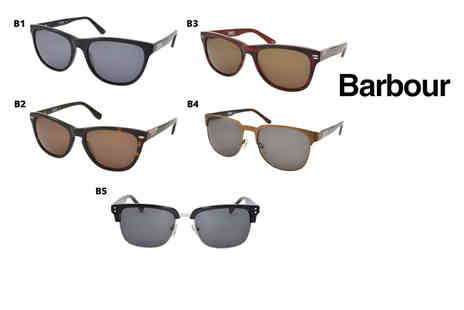 Brand Logic - Pair of Barbour sunglasses choose from 10 styles - Save 64%