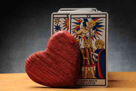 Auset Wellbeing - 12 month forecast tarot card reading specialising in your love life - Save 75%