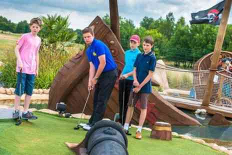 Ramsdale Park Golf Centre - Junior pirate themed adventure golf experience for one - Save 44%