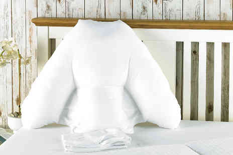 Better Dreams - Batwing back support pillow with zipped microfibre cover - Save 61%