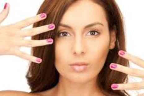 Perfect Hair and Beauty - Luxury manicure and pedicure plus an eyebrow wax and a lash and brow tint - Save 70%