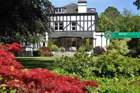 Brook Meadow Hotel - Overnight stay for two with three course dining, breakfast and late check out - Save 0%