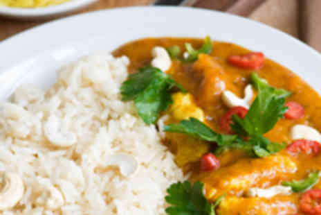 Namaste Kerala - Two Starters, Two Mains, Two Rice, and Wine - Save 53%