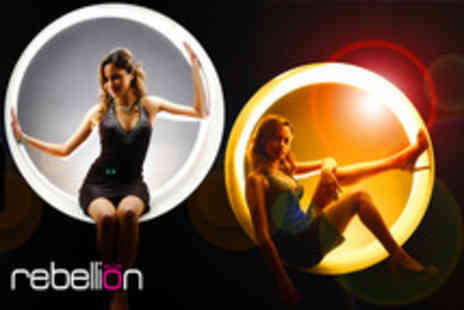 Rebellion Photography - MAC Makeover and photoshoot including a 30x40cm canvas print - Save 97%