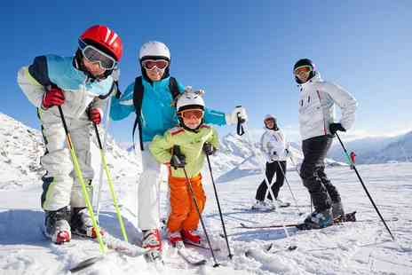 Swadlincote ski centre - Three Skiing or Snowboarding Lessons for One - Save 0%