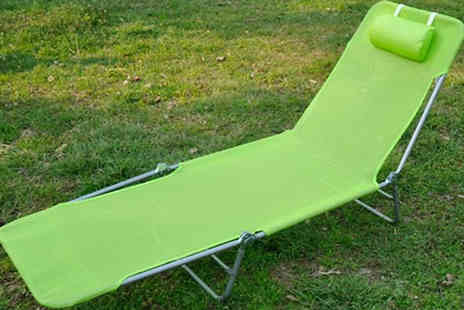 Mhstar - Garden Sun Loungers Available in Three Colours - Save 58%
