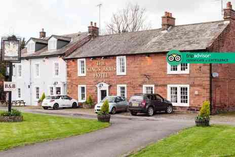 The Kings Arms - Two night 4 star Cumbria stay for two people with breakfast with breakfast - Save 43%