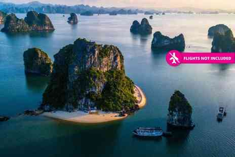 Lisa Vietnam Travel - Eight day Vietnam tour including daily breakfast, selected meals, excursions and transport - Save 47%