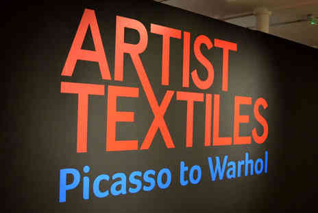 New Lanark World Heritage Site Visitor Centre - One ticket to the Artist Textiles Exhibition featuring Picassso and Warhol - Save 44%