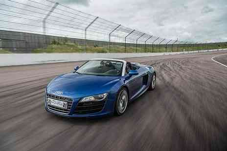 Buyagift - Double supercar driving blast experience with a high speed passenger ride - Save 0%