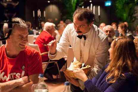 Super Break - Overnight hotel stay with breakfast and a three course dinner with Faulty Towers entertainment - Save 35%