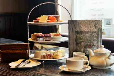 Carmelite Aberdeen - Cocktail Teapot or Sparkling Wine Afternoon Tea for Two - Save 51%