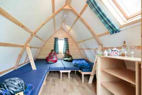 Mains Farm Wigwam - Two or Three Night Glamping for Two or Family of Five - Save 53%