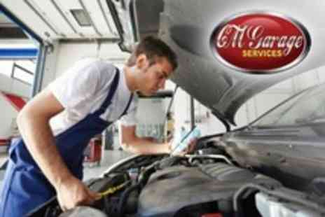 CM Garage Services - MOT and 54 Point Health Check Plus Oil and Filter Change - Save 75%