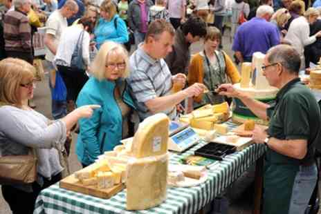 The Artisan Cheese Fair - Entry for One or Two Adults to The Artisan Cheese Fair - Save 38%